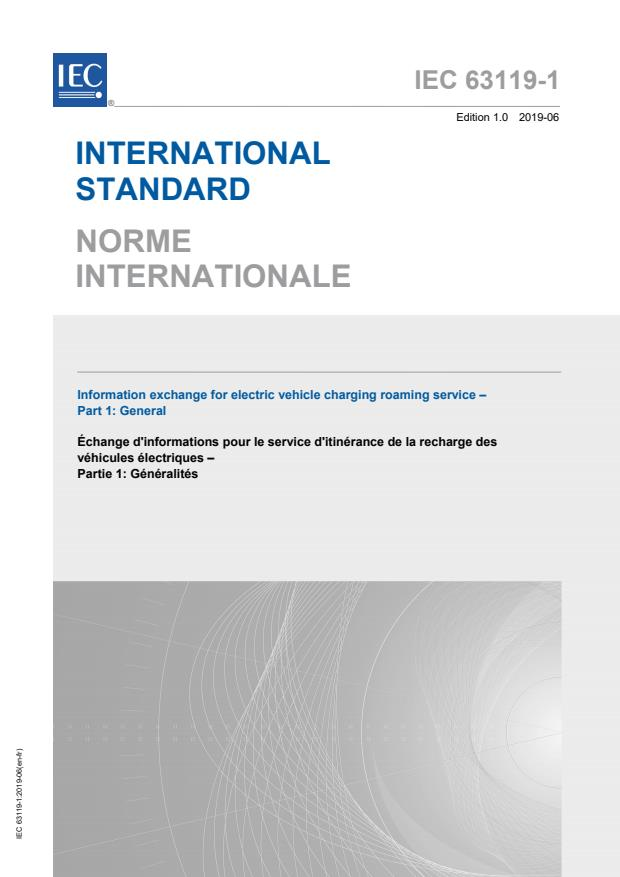 IEC 63119-1:2019