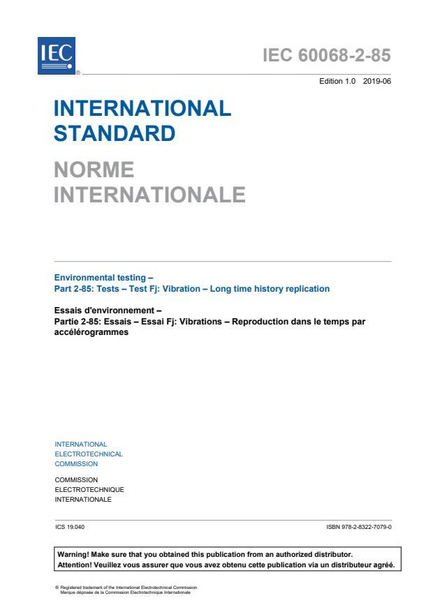 IEC 60068-2-85:2019