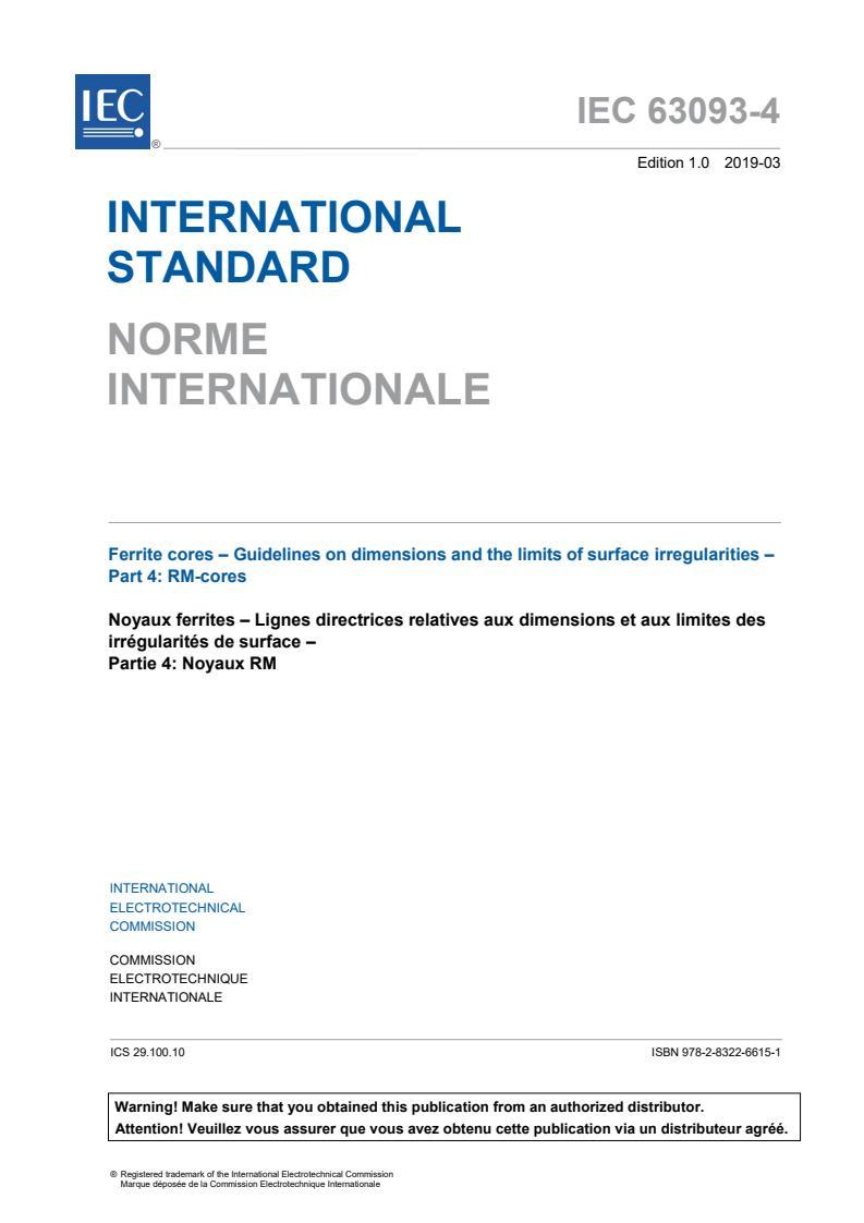 IEC 63093-4:2019