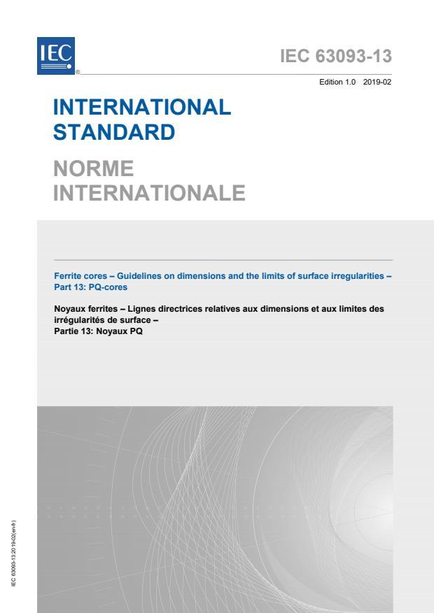 IEC 63093-13:2019