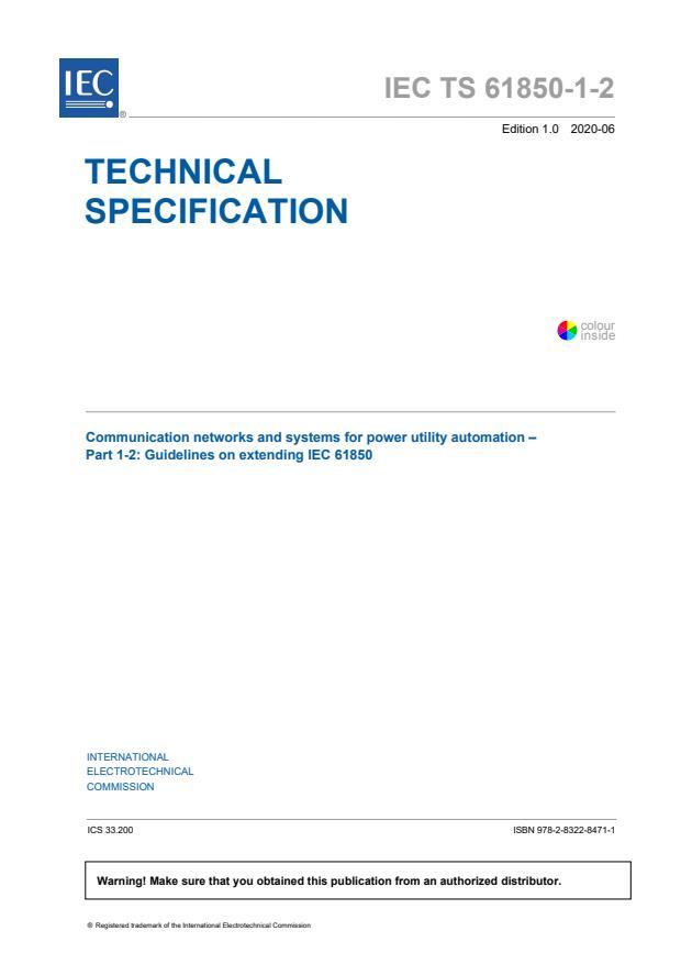 IEC TS 61850-1-2:2020