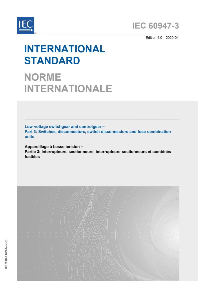 IEC 60947-3:2020