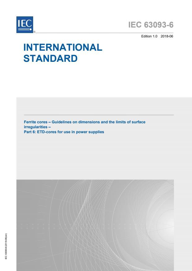 IEC 63093-6:2018