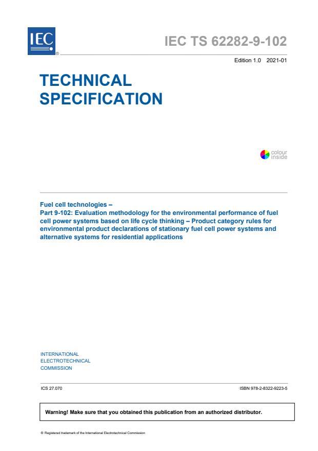 IEC TS 62282-9-102:2021