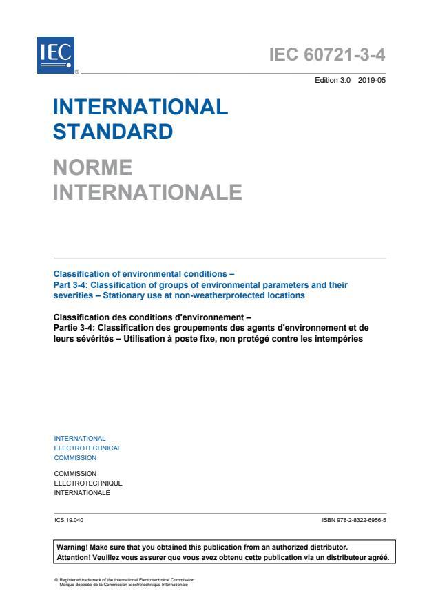 IEC 60721-3-4:2019
