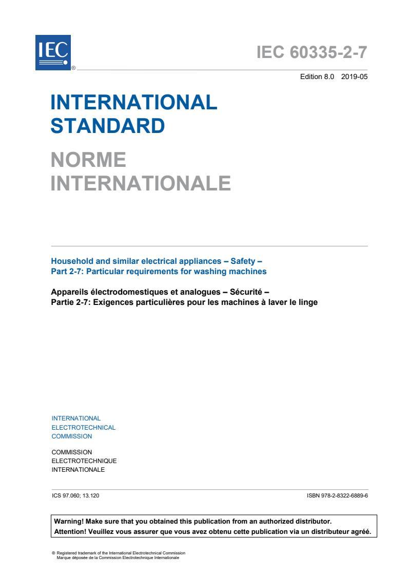 IEC 60335-2-7:2019