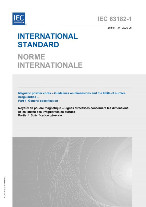 IEC 63182-1:2020