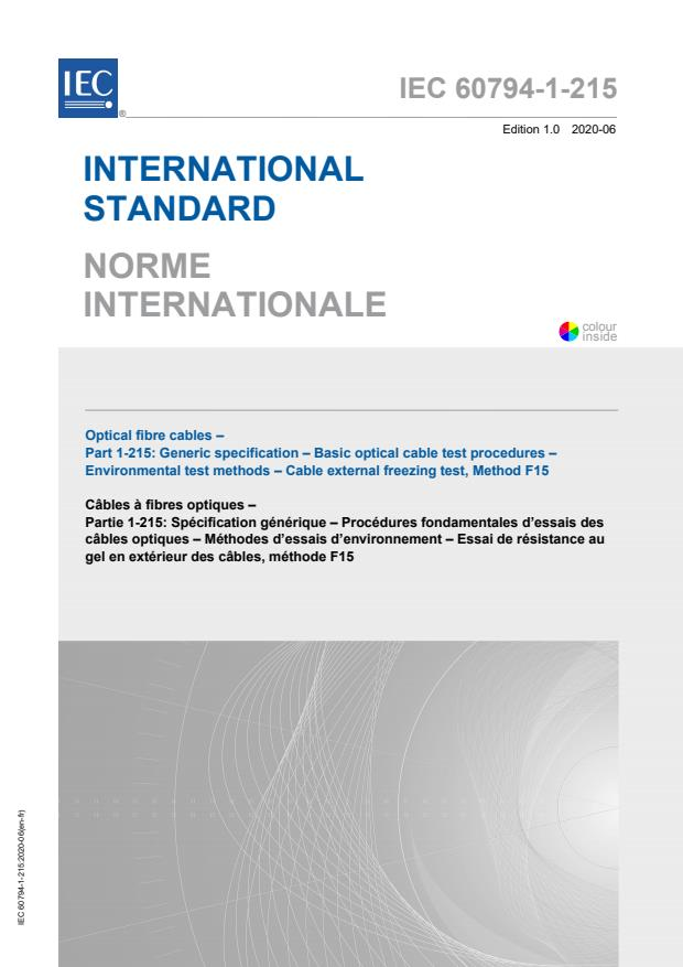 IEC 60794-1-215:2020