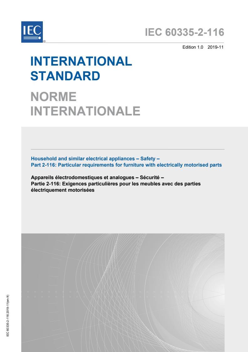 IEC 60335-2-116:2019