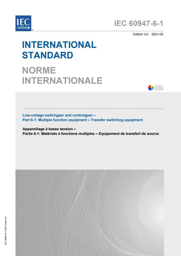 IEC 60947-6-1:2021