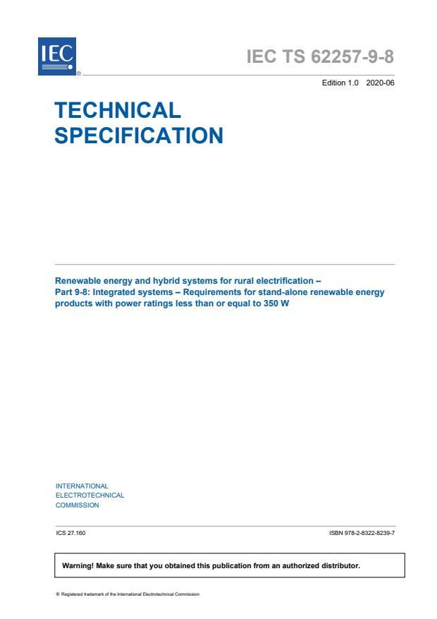 IEC TS 62257-9-8:2020