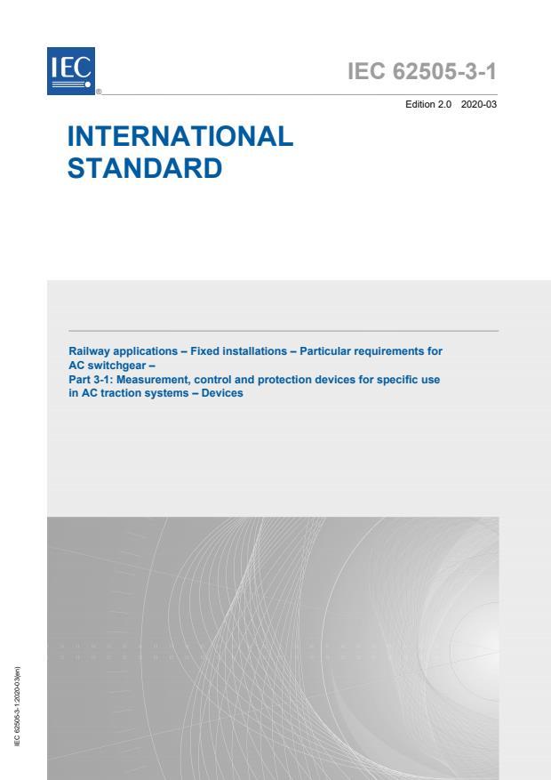 IEC 62505-3-1:2020