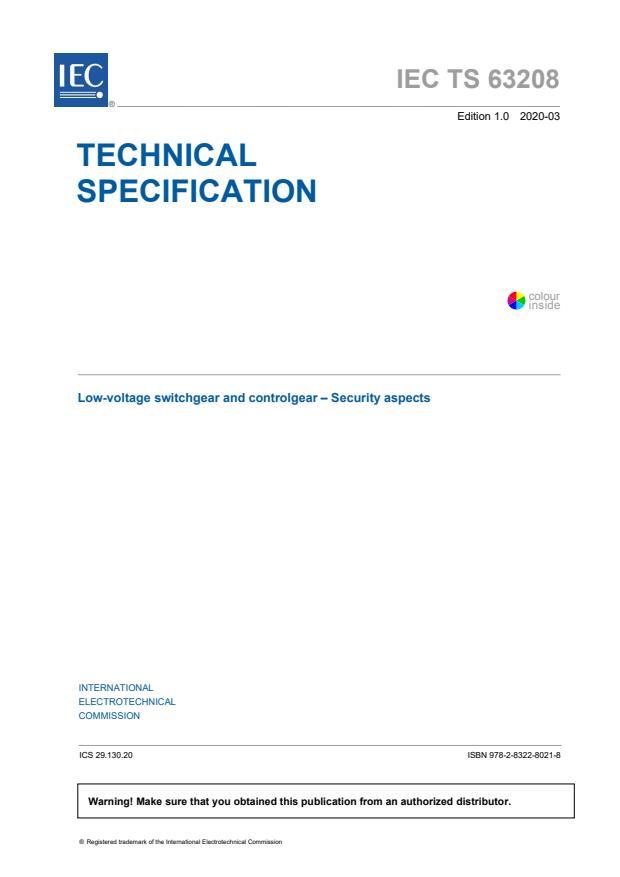 IEC TS 63208:2020