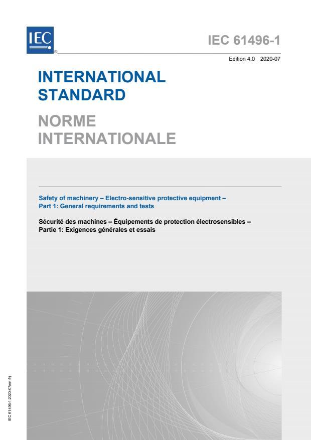 IEC 61496-1:2020