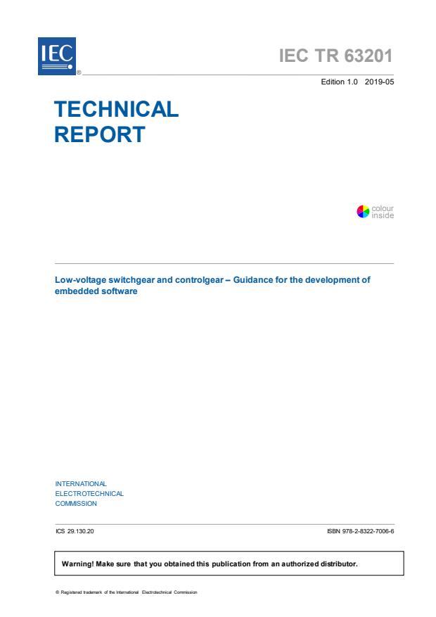 IEC TR 63201:2019