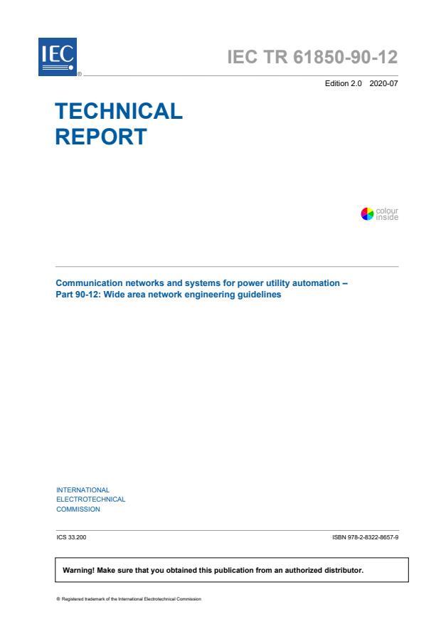 IEC TR 61850-90-12:2020