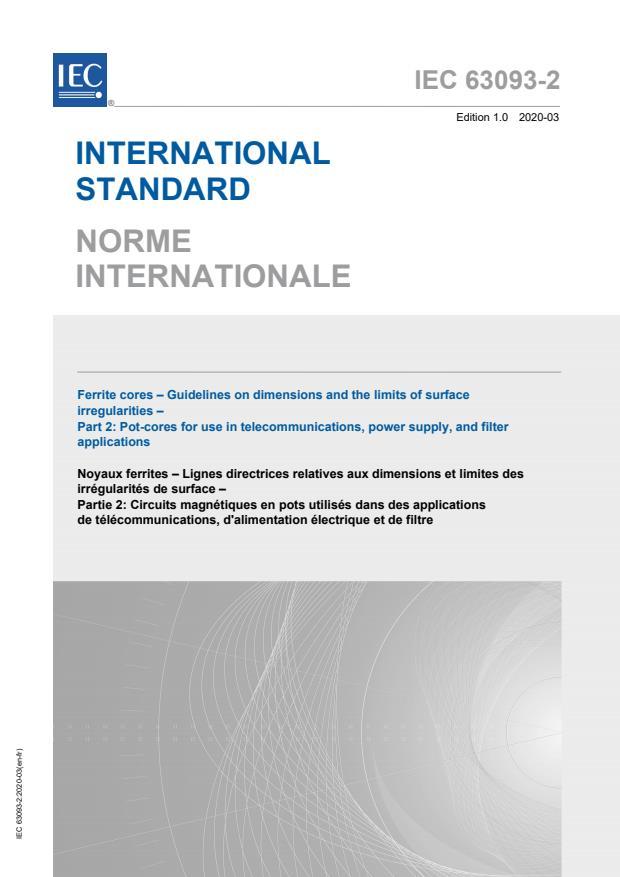 IEC 63093-2:2020