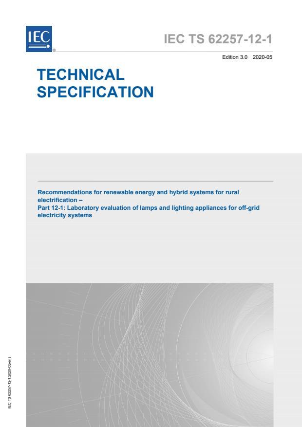 IEC TS 62257-12-1:2020