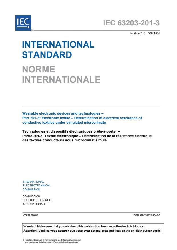 IEC 63203-201-3:2021