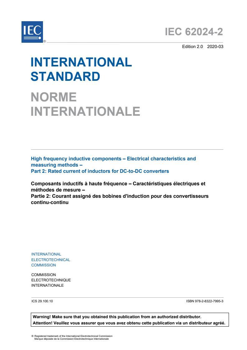 IEC 62024-2:2020