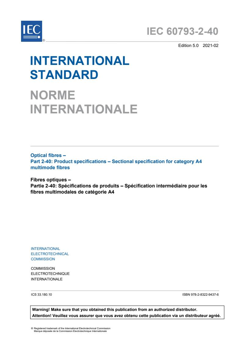 IEC 60793-2-40:2021