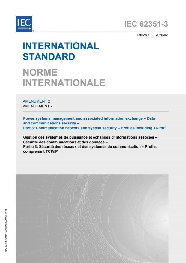 IEC 62351-3:2014/AMD2:2020