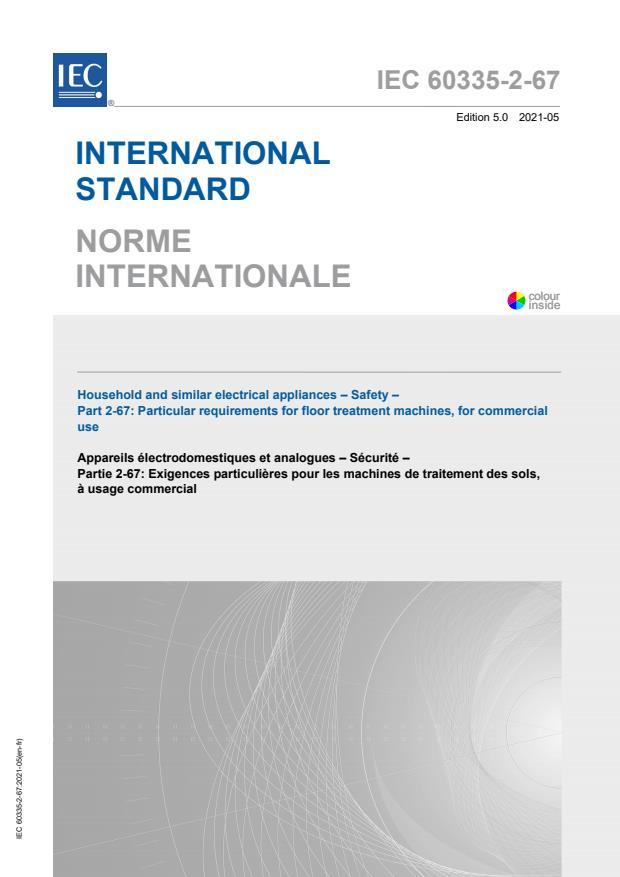 IEC 60335-2-67:2021
