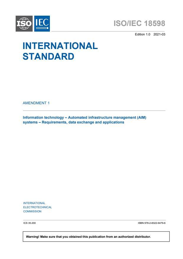 ISO/IEC 18598:2016/AMD1:2021
