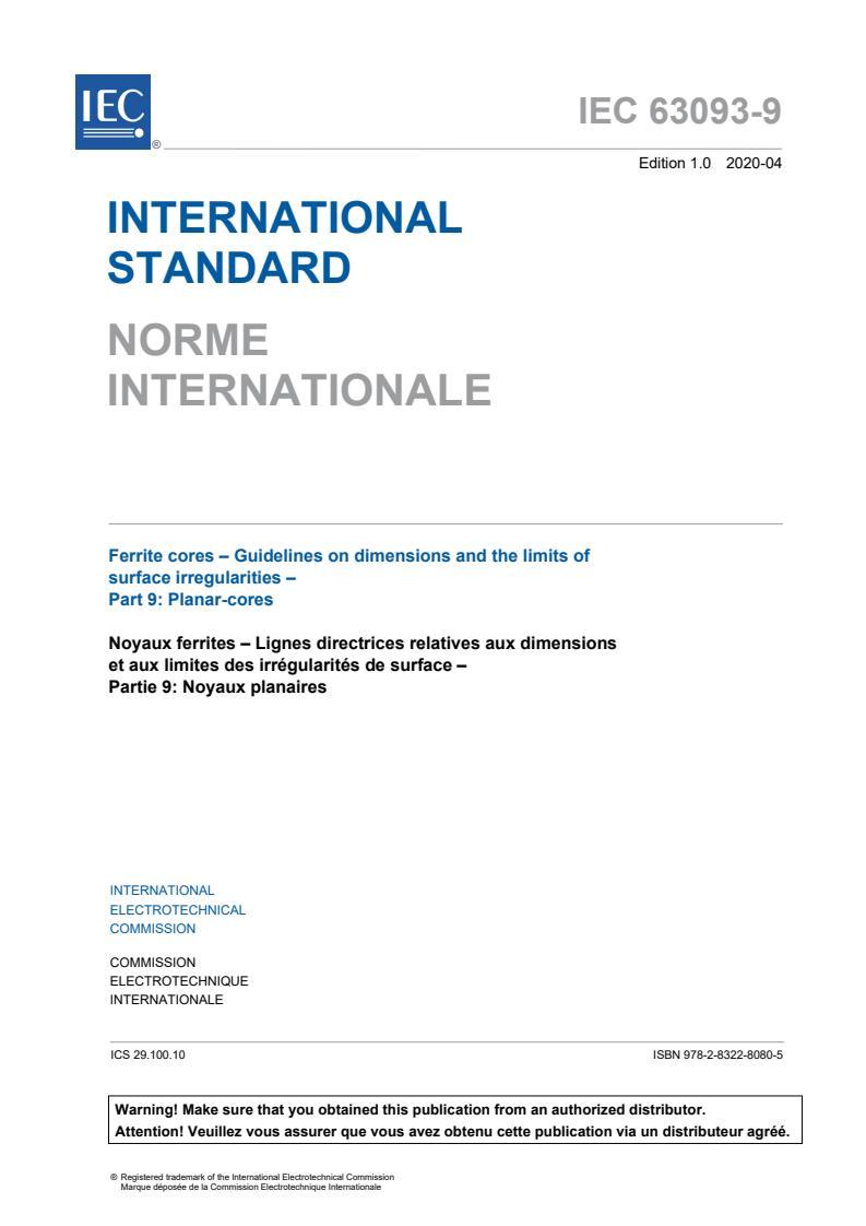 IEC 63093-9:2020