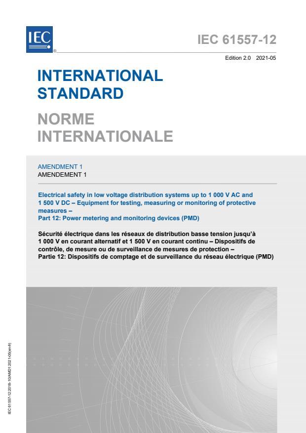 IEC 61557-12:2018/AMD1:2021