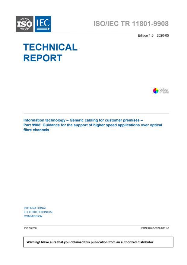 ISO/IEC TR 11801-9908:2020