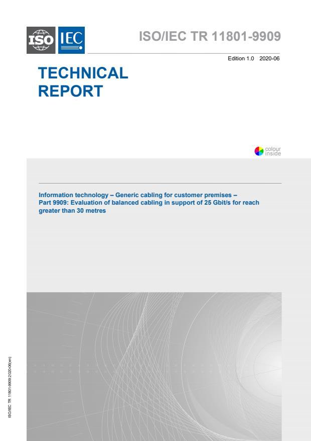 ISO/IEC TR 11801-9909:2020