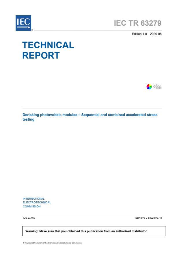 IEC TR 63279:2020