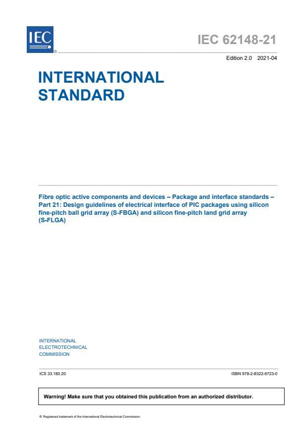 IEC 62148-21:2021