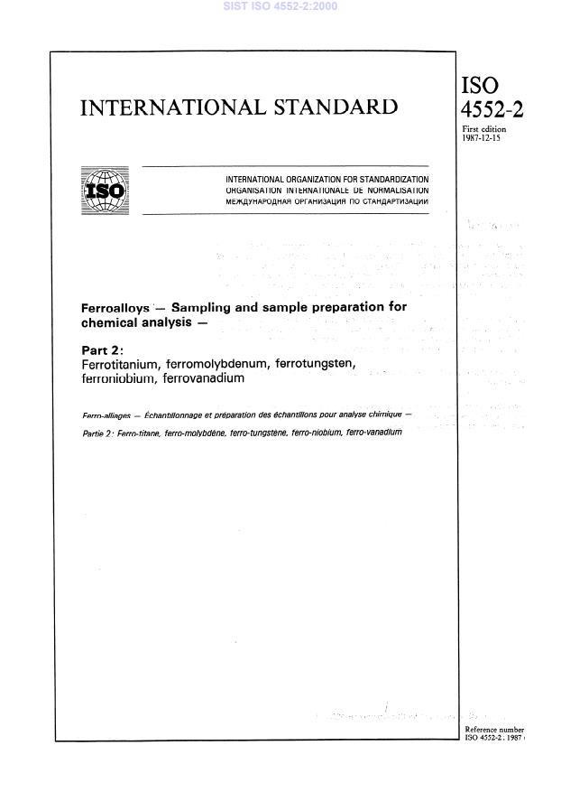 SIST ISO 4552-2:2000