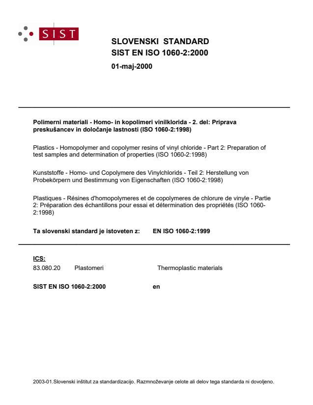 SIST EN ISO 1060-2:2000