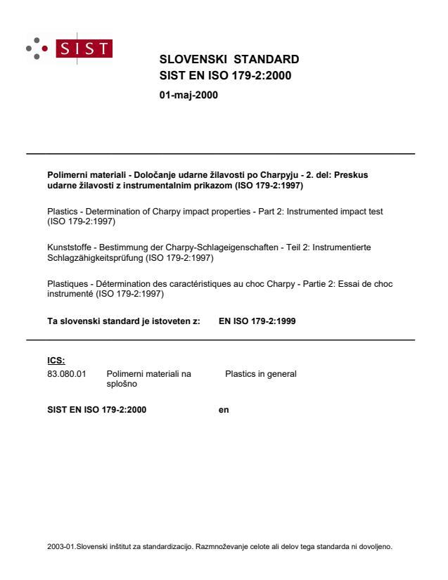 SIST EN ISO 179-2:2000