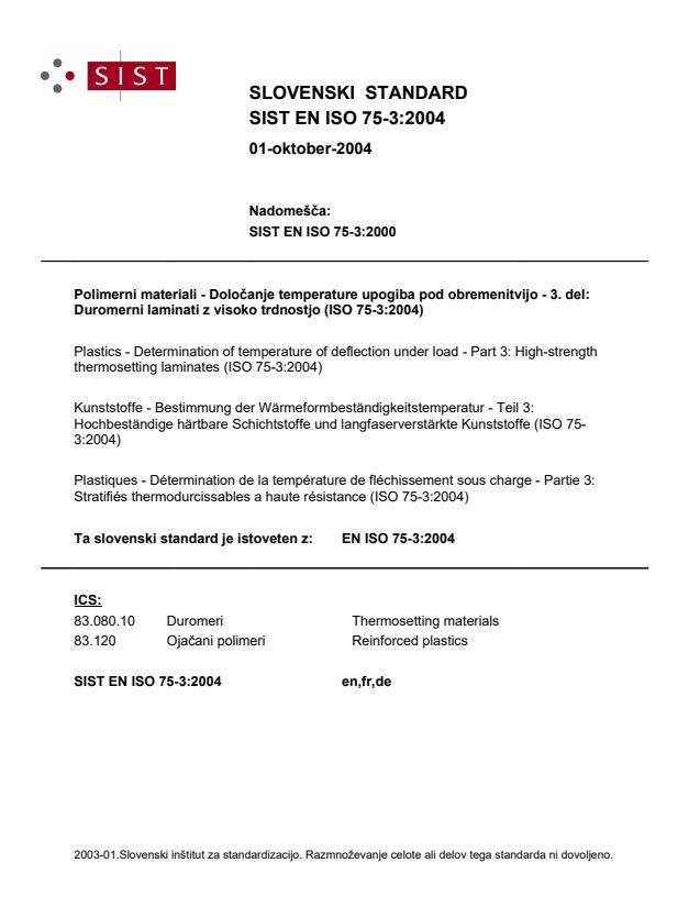 SIST EN ISO 75-3:2004