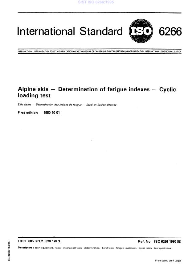 SIST ISO 6266:1995