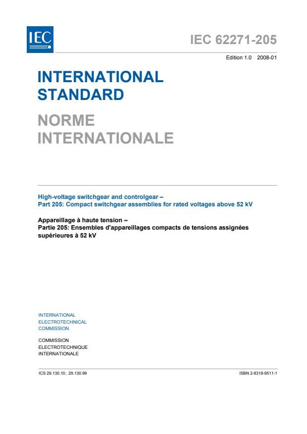IEC 62271-205:2008