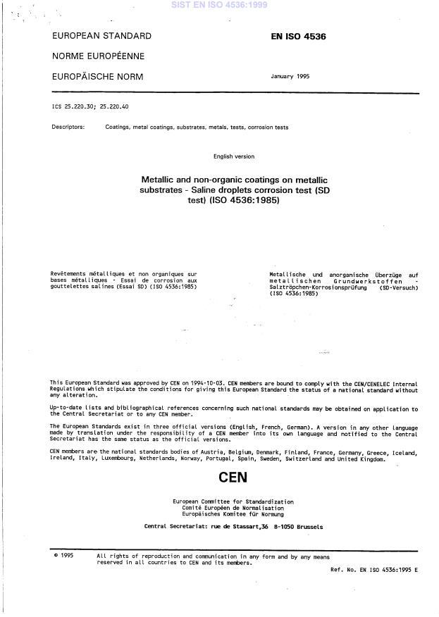 EN ISO 4536:1995
