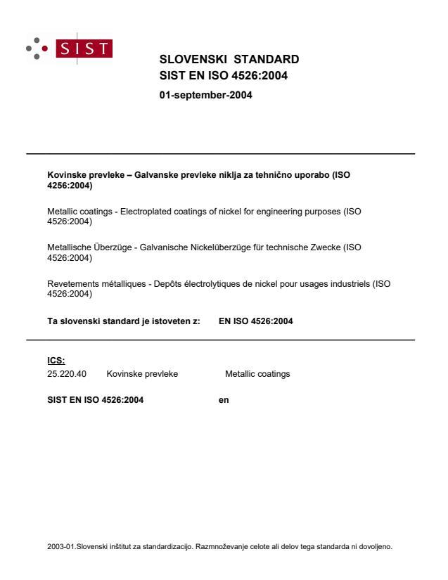 EN ISO 4526:2004