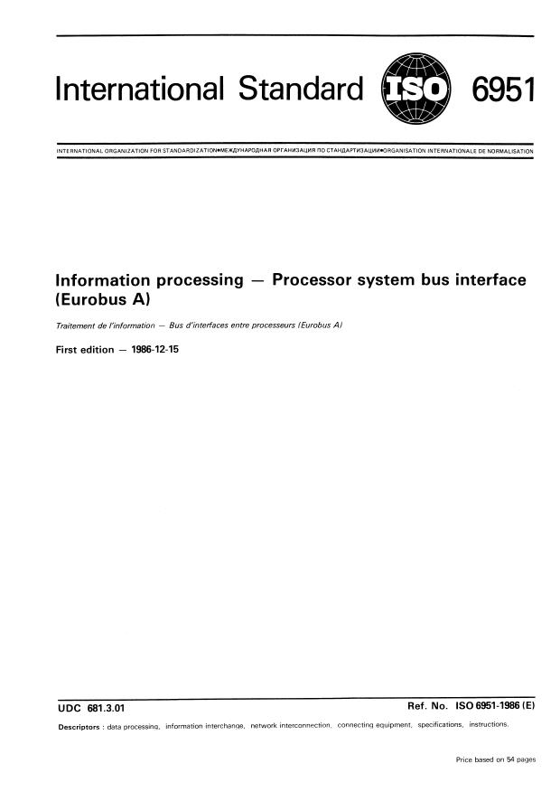 ISO 6951:1986