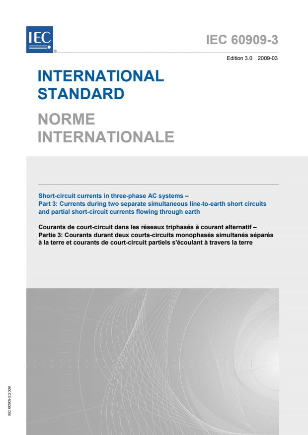 IEC 60909-3:2009