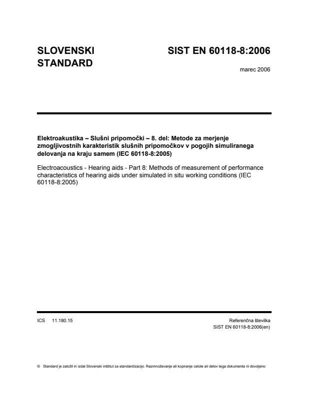 EN 60118-8:2006