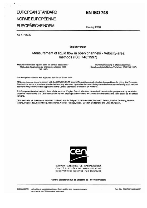 EN ISO 748:2001