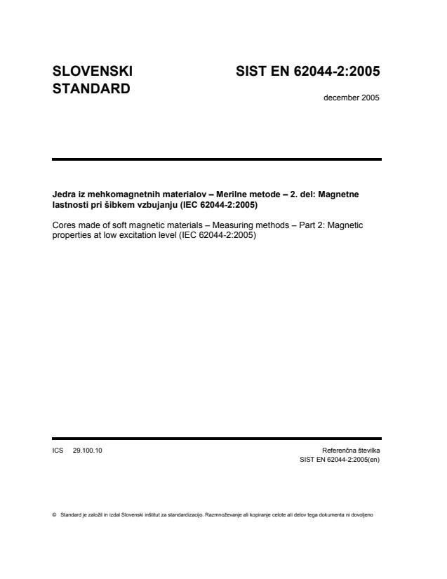 SIST EN 62044-2:2005