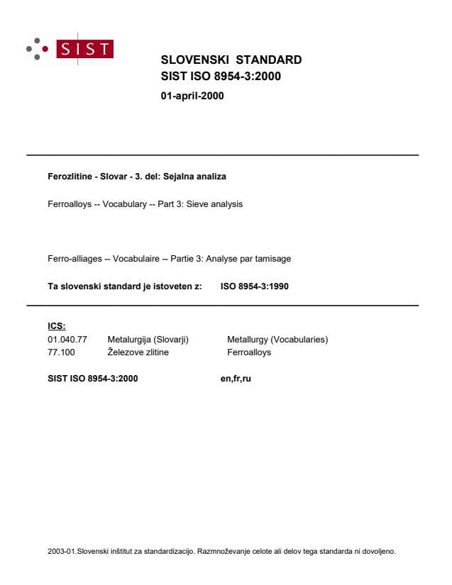 SIST ISO 8954-3:2000
