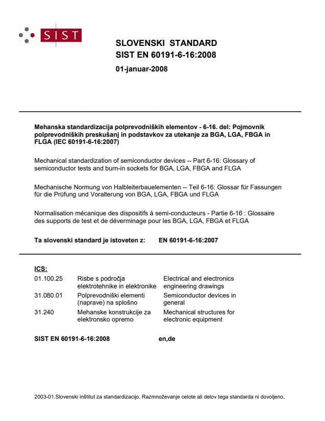 SIST EN 60191-6-16:2008