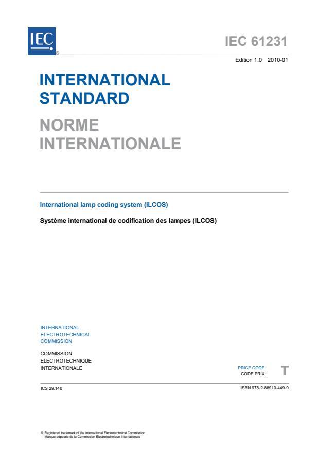IEC 61231:2010